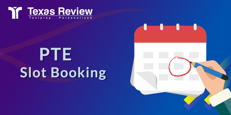 PTE Slot Booking